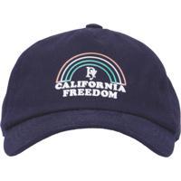 Boné Masculino California Freedom - Azul