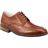 Sapato Social Sandro & Co Masculino - Masculino-Marrom Claro