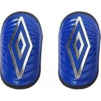 Caneleira Umbro Diamond Ss - Unissex-Azul+Prata