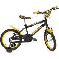 Bicicleta Infantil Aro 16 Rharu Tech Morcego - Masculino