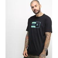 Camiseta Hurley Silk Radio Masculina - Masculino