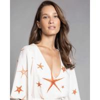 Blusa Com Cordão Estampa Starfish - Lez A Lez