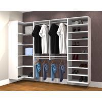 Conjunto Completo Para Closet 33 Branco - Getama Moveis
