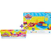 Super Kit Play Doh Café Da Manhã Com 4 Potes - Hasbro