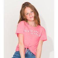 Blusa Be Free Feminino Rovitex Teen Rosa