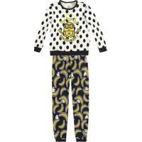 Pijama Minionsâ®- Amarelo & Preto- Kids- Pucpuc