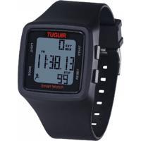 Relógio Pedômetro Tuguir Digital Tg1606 - Preto