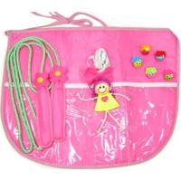Avental De Brincadeiras Kits E Gifts Corda, Elástico E 3 Marias Multicolorido
