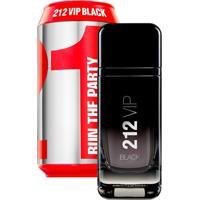 Perfume Carolina Herrera 212 Vip Black Collector Eau De Toilette