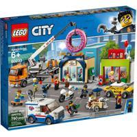 Lego City - Inauguração Da Loja De Donuts - 60233