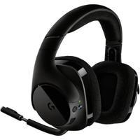 Headset Gamer Logitech G533 Sem Fio 7.1 Surround Drivers Pro-G - Unissex