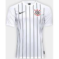 Camisa Corinthians I 19/20 S/Nº Torcedor Nike Masculina - Masculino