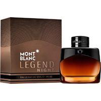 Perfume Legend Night Masculino Montblanc Eau De Parfum 30Ml - Masculino-Incolor