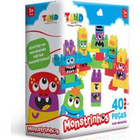 Blocos De Montar - Tand Kids - Monstrinhos - Toyster