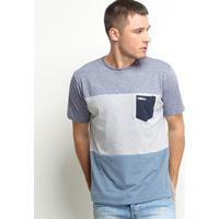Camiseta Hd Especial Triwave Masculina - Masculino-Azul