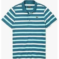 Camisa Polo Lacoste Sport Regular Fit Listrada Masculina - Masculino