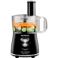 Multiprocessador Full Kitchen Premium Mondial Nmp-08 500W Preto 220V