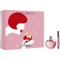 Kit 1 Perfume Feminino Nina Ricci Nina Edt 80Ml + 1 Batom Lipstick Nina - Unissex-Incolor