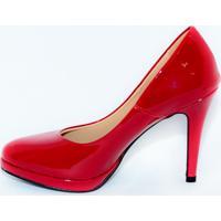 Sapato Goya Meia Pata Verniz Vermelho