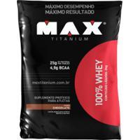 100% Whey 2Kg - Chocolate - Max Titanium