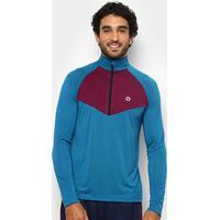 Blusão Área Sports True Masculino - Masculino-Azul+Roxo