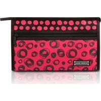 Necessaire Envelope Jacki Design Microfibra - Feminino