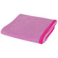 Manta Suedine Dupla Listrada - Mmd Baby - Tamanho Único - Pink