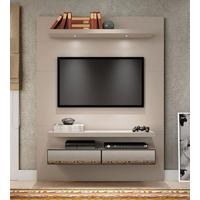 Home Theater Suspenso Com Led E Espelhos Tb106E-Nn Dalla Costa Fendi