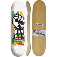 Shape Marfim Skateboards Punho 8.0
