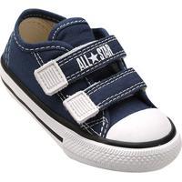 Tênis Infantil Converse All Star Ct Border 2 Velcros Baby - Unissex-Marinho