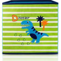 Caixa Organizadora De Brinquedos E Roupas Infantil Jacki Design Dobrável Verde
