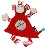Naninha Bogos, O Macaco Deglingos - Masculino-Vermelho