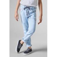 Calça Infantil Jeans Elastano Reserva Mini Masculina - Masculino-Azul Claro