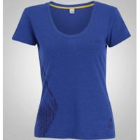 Camisa Do Brasil Olympikus Vôlei Torcida 16 - Feminina - Azul