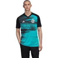Camisa Flamengo Pré Jogo 20/21 Adidas Masculina - Masculino-Verde Água