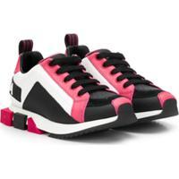 Dolce & Gabbana Kids Block Color Sneakers - Branco