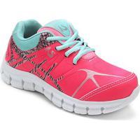 Tênis Infantil No Stress Jogging - Masculino-Pink