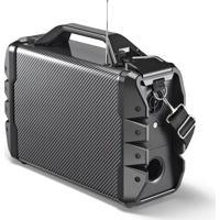 Caixa De Som 6 Em 1 Portátil Bluetooth Microfone Multilaser