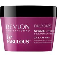 Revlon Professional Be Fabulous C.R.E.A.M - Máscara Para Cabelos Normais A Grossos 200Ml - Unissex