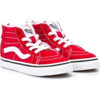 Vans Kids Tênis 'Sk8-Hi' - Vermelho