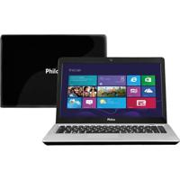 "Notebook Philco 14L-P1023W8Nc4Cu43 - Intel Celeron - Ram 2Gb - Hd 320Gb - Led 14"" - Windows 8"