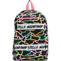Stella Mccartney Kids Mochila Com Logo - Preto