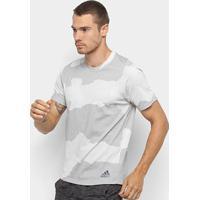 Camiseta Adidas Fltec Gf Cam Masculina - Masculino-Mescla
