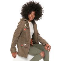 Jaqueta Polo Wear Broches Verde