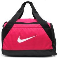 Bolsa Nike Brasilia Duffel Rosa/Preta