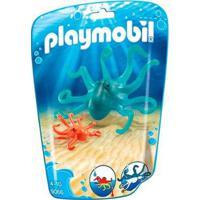 Playmobil Animais Marinhos Filhotes Polvo Sunny - Unissex-Incolor