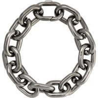 Jack Vartanian Pulseira 'Chain P' Prata Com Ródio Negro - Prateado