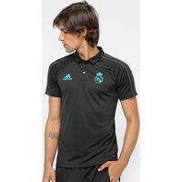 Camisa Polo Adidas Real Madrid Viagem - Masculino