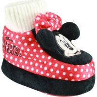 Pantufa Infantil Bebê Ricsen Flat Minnie Mouse
