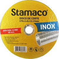 Disco De Corte Para Inox 178X22,23Mm